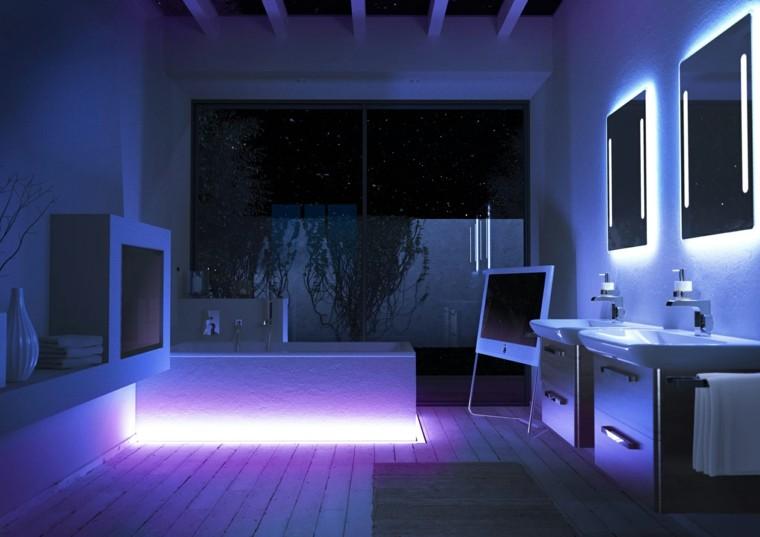 Efectos originales para tu iluminaci n exterior e interior - Iluminacion indirecta led ...