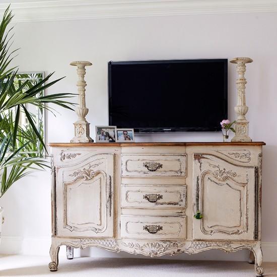 Entretenimiento y diversi n en tu sal n con colores - Muebles estilo vintage ...