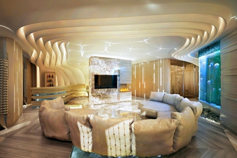 Interiores modernos 65 ideas para la decoraci n for Decoracion de interiores modernos
