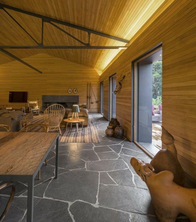 interiores laminados estilo moderno muebles