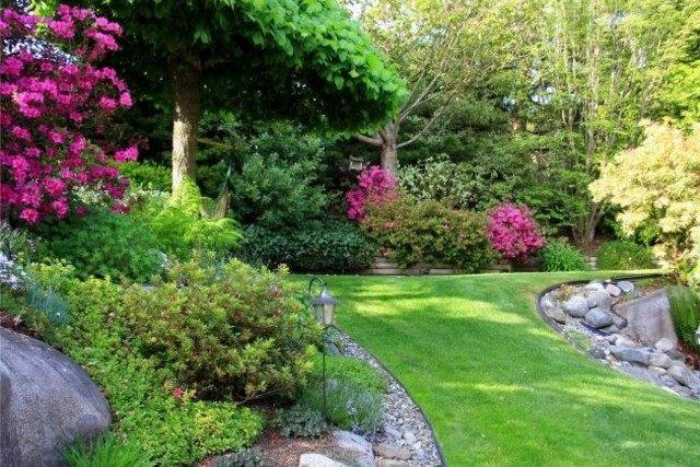 Paisaje natural en su propio jard n cien fabulosas ideas - Como disenar un jardin grande ...