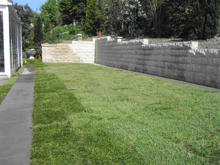 jardin estilo minimalista grande cesped ideas