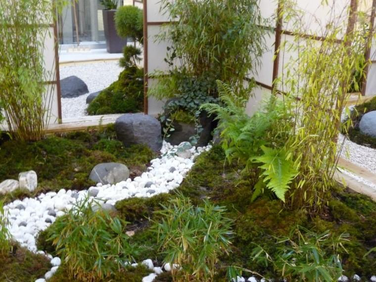 Jardines interiores for Jardin japones interior