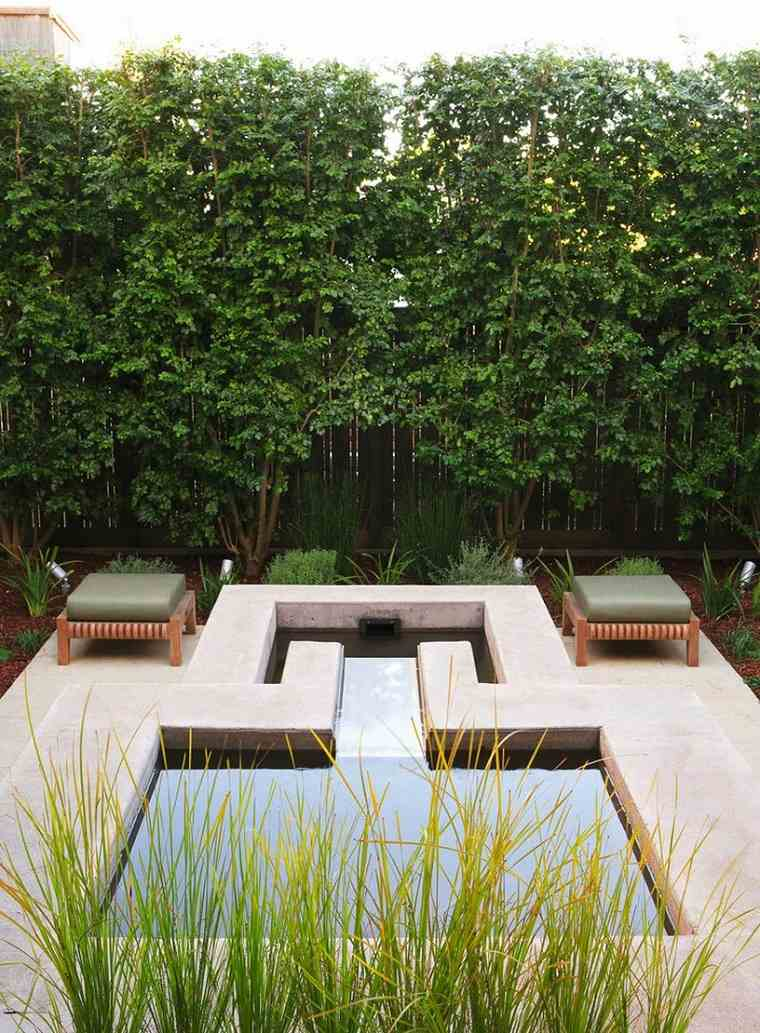 Tropical Courtyard Garden Patio