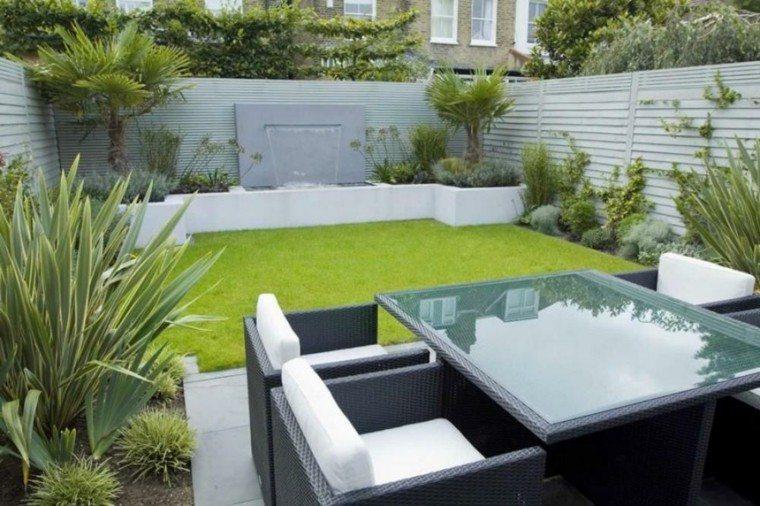 Jardin minimalista armona de las formas en 50 ideas