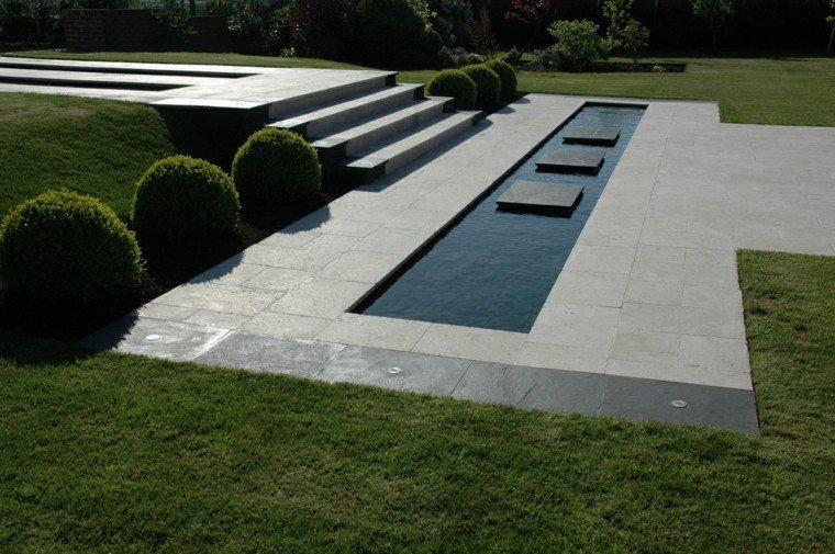 Jardin minimalista armon a de las formas en 50 ideas for Plantas modernas para jardin