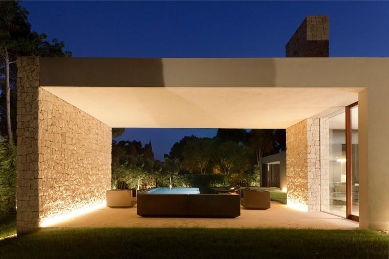 jardin porche cubierta muebles exterior
