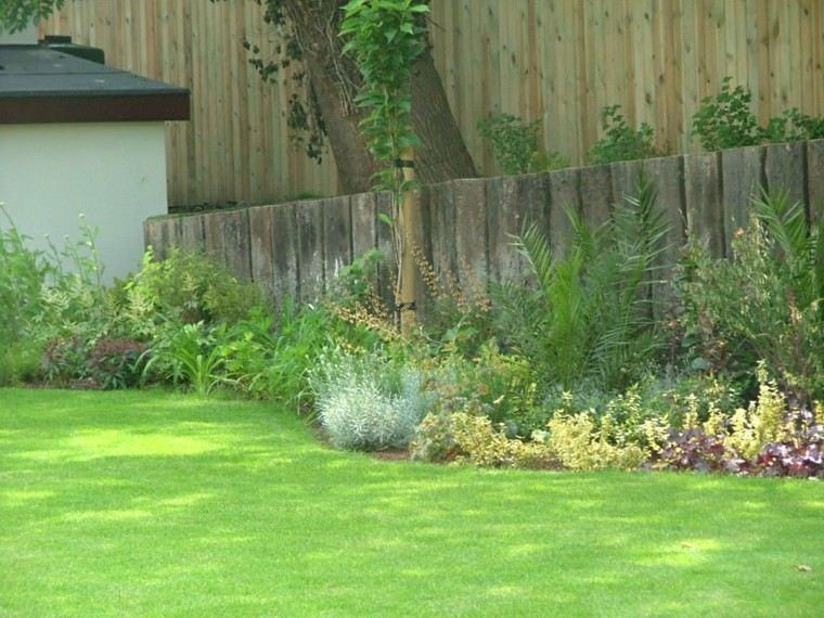 jardin valla flores madera ideas bonitas modernas