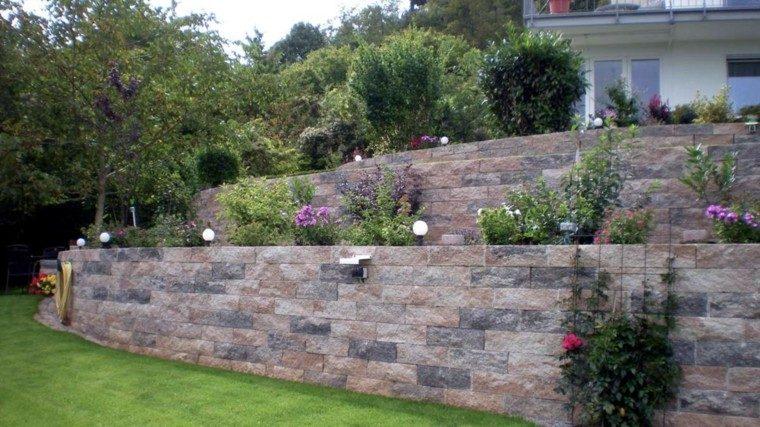 Muros en el jard n 75 ideas que te encantar n for Arboles altos para jardin