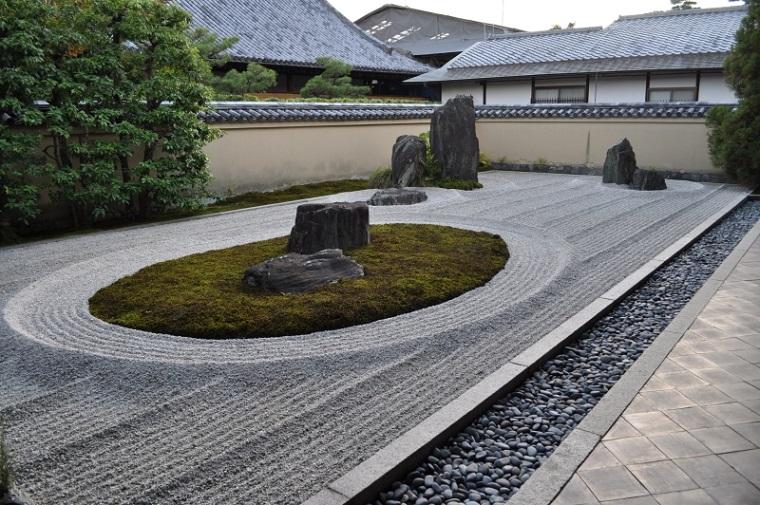 jardin zen las arenas grava