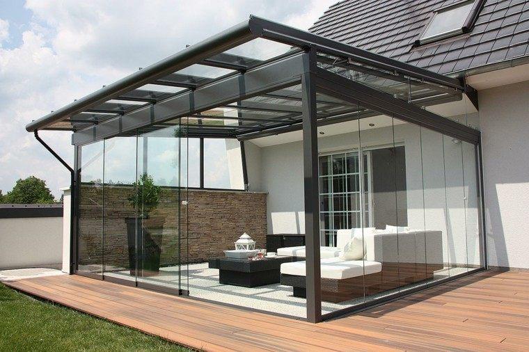 Jardines y terrazas 75 ideas creativas de dise o que inspira for Techo para terraza exterior
