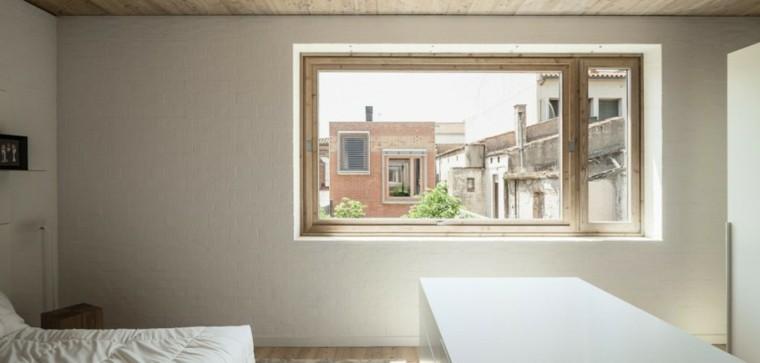 la casa ventana dormitorio patio