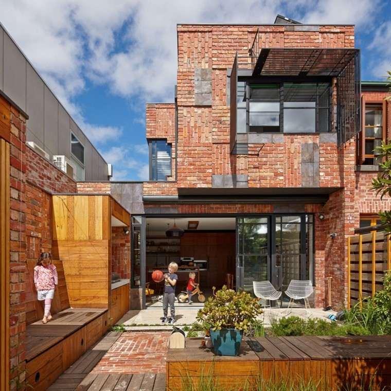 Ladrillo visto para casas de arquitectura y dise o innovativo - Casa de ladrillos ...