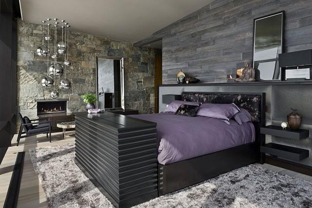 laminado color gris cama negra