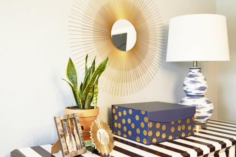 lampara diseño garabatos  pintura
