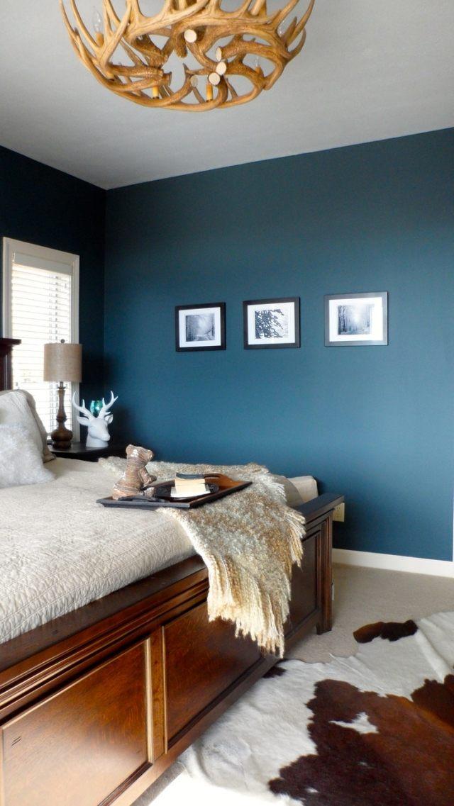 Paleta de colores para el dormitorio es hora de un cambio - Blaues schlafzimmer ...