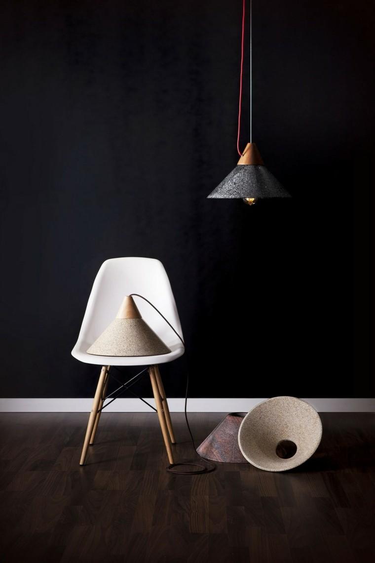 lámparasde techo ideas modernas colgando pequena bonitas