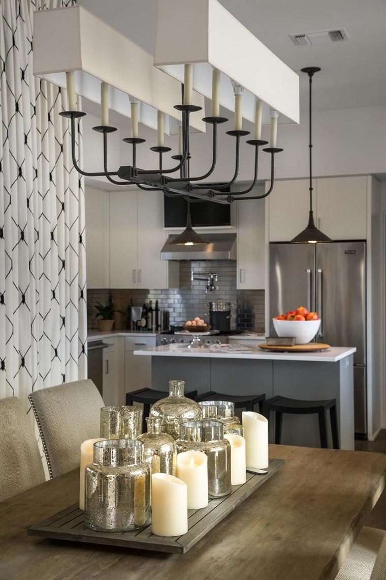 Lamparas de techo modernas para sala y comedor lebrite - Lamparas de techo para cocinas ...