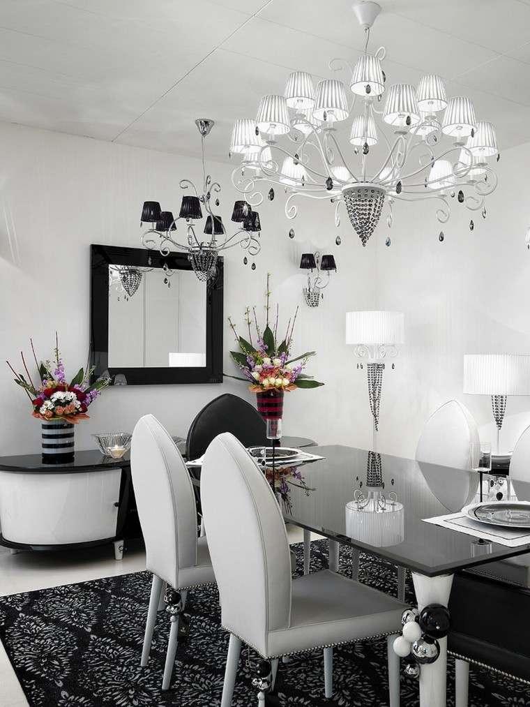 L mparas de techo ideas modernas para el interior - Lamparas para salones modernos ...
