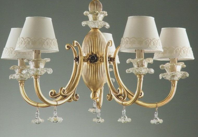 lamparas de techo ideas modernas estilo epoca bonita