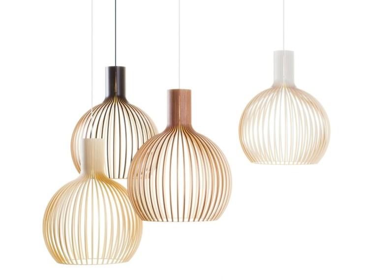 lamparas de techo ideas modernas estilo originalidad bonitas