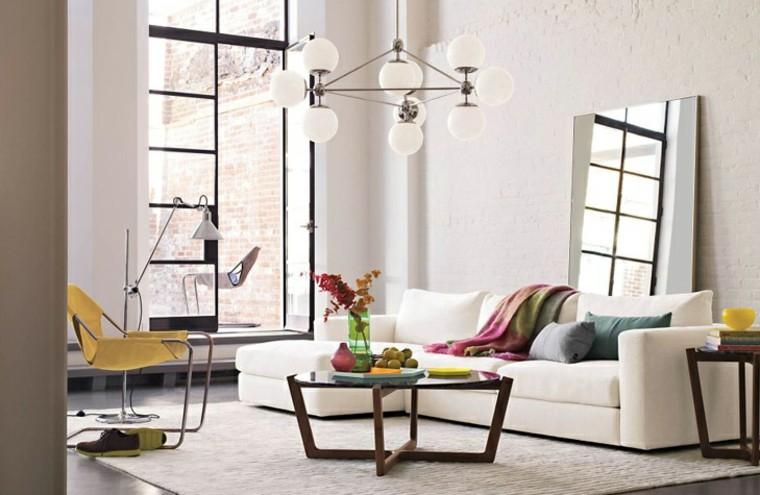 lamparas de techo-ideas modernas originales hogar bolas