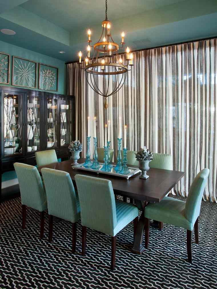 dining room color ideas 2013 l 225 mparas de techo ideas modernas para el interior 939