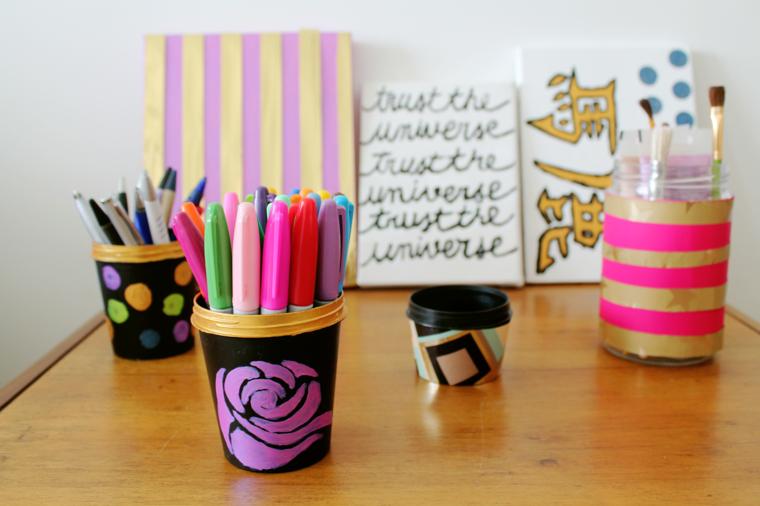 Hazlo tu mismo adornos minimalistas de buen gusto - Manualidades originales para casa ...