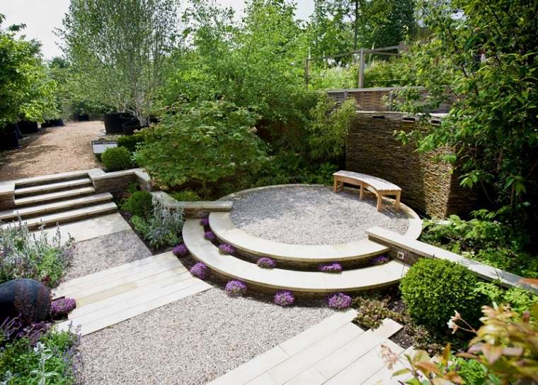 las arenas decorativas jardin