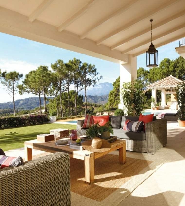 las terrazas ratan muebles diseño mobiliario