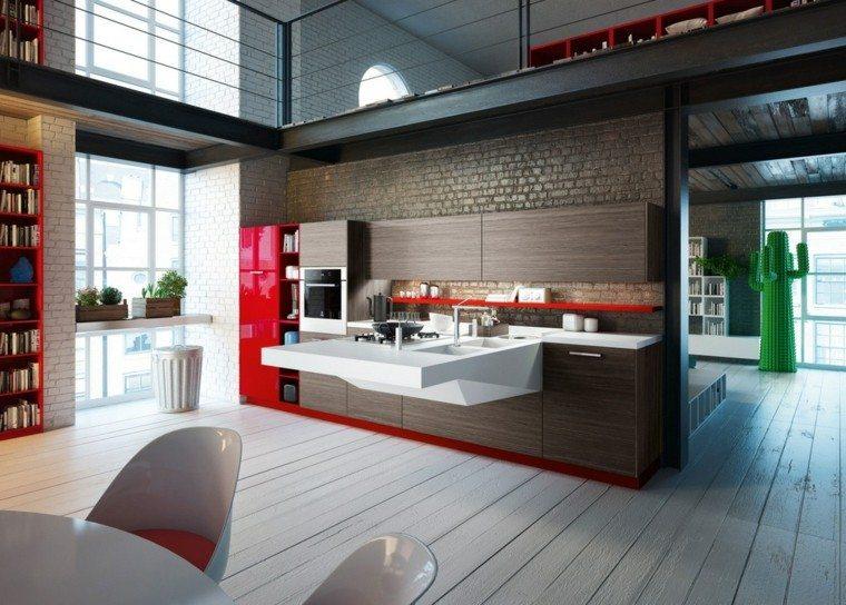 lavabo cocina diseño moderno blanco