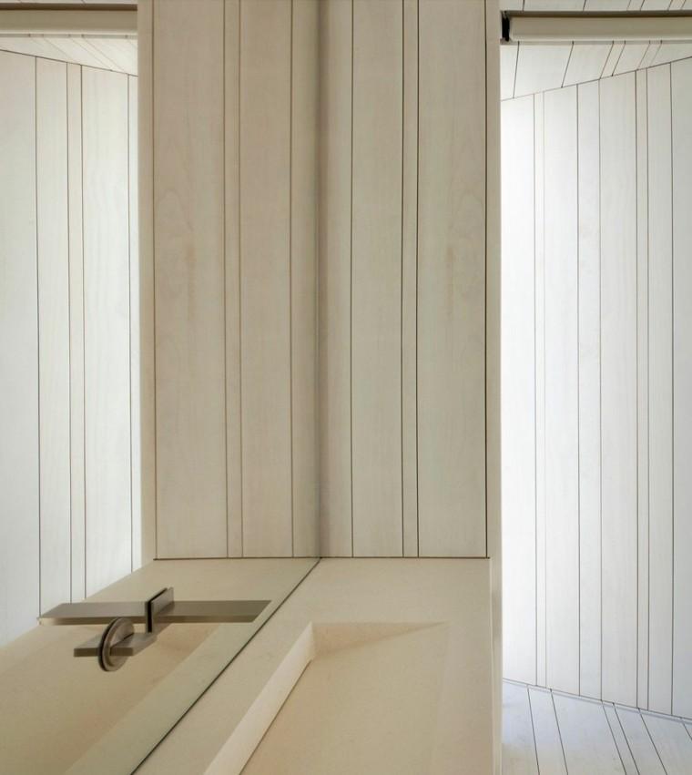 lavabo diseno bano estilo minimalista casa Sardinera ideas
