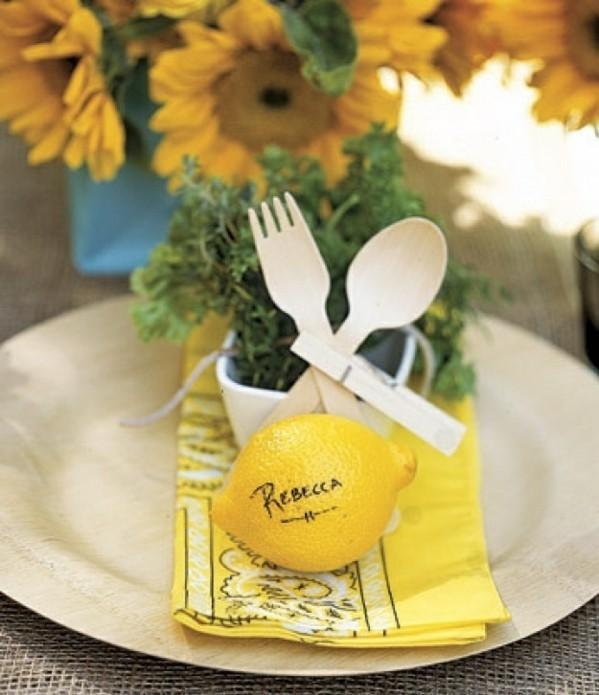 limon nombre cubiertos madera blancos