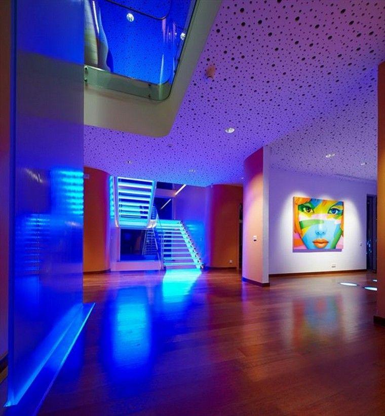 Iluminacion indirecta led salon y salas de estar for House interior lighting ideas