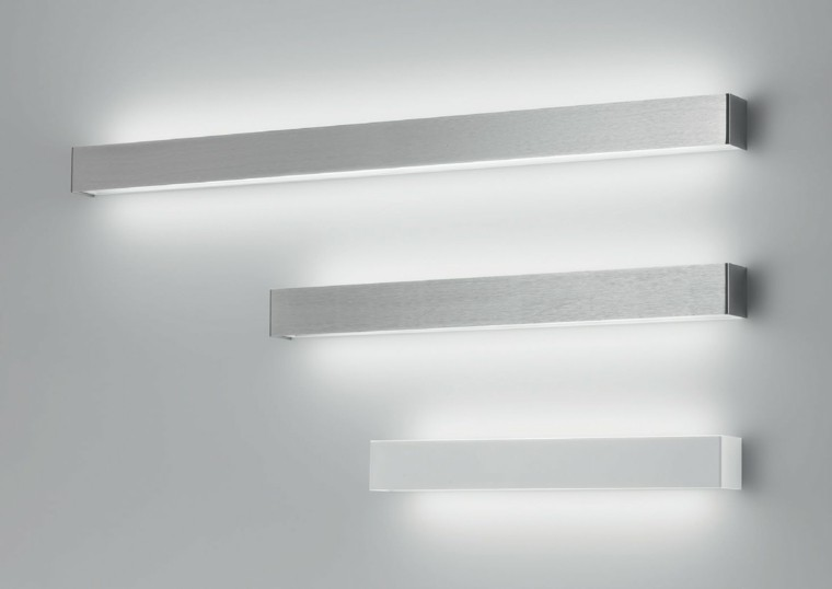 lmparas led para interiores luces indirectas pared led modernas