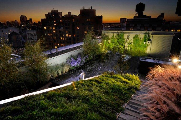luces led diseño edificios creativo