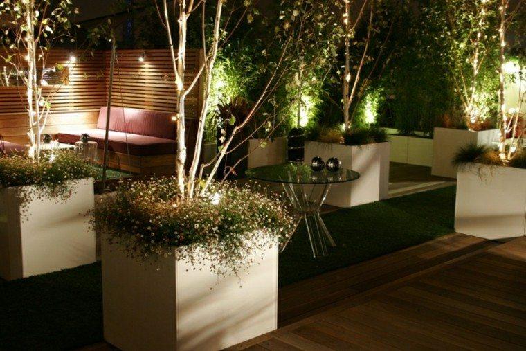 luces led muro mesa plantas tiras