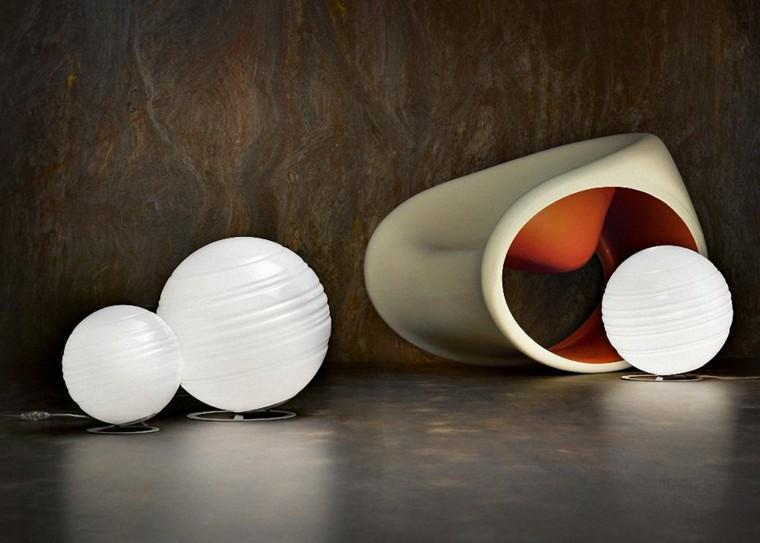 luces modernas muebles jardin bolas