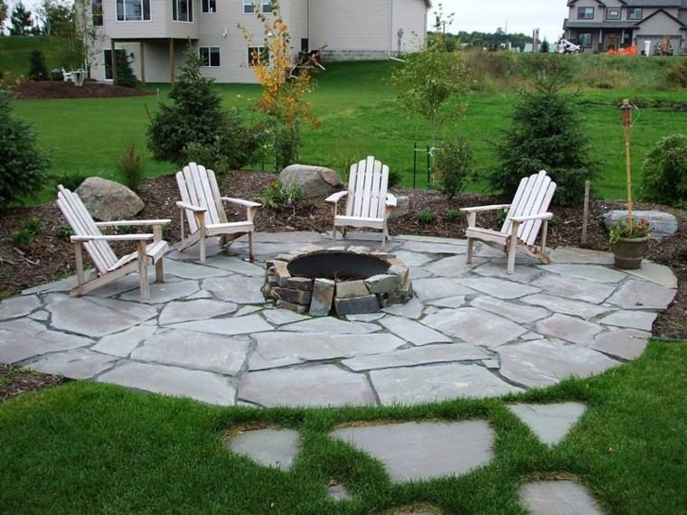 Outdoor Stone Lounge Chair