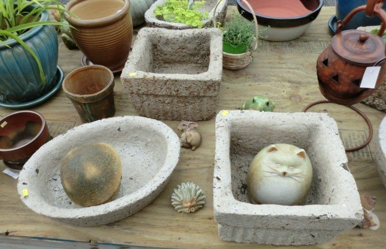 maceteros objetos accesorios jardin deco