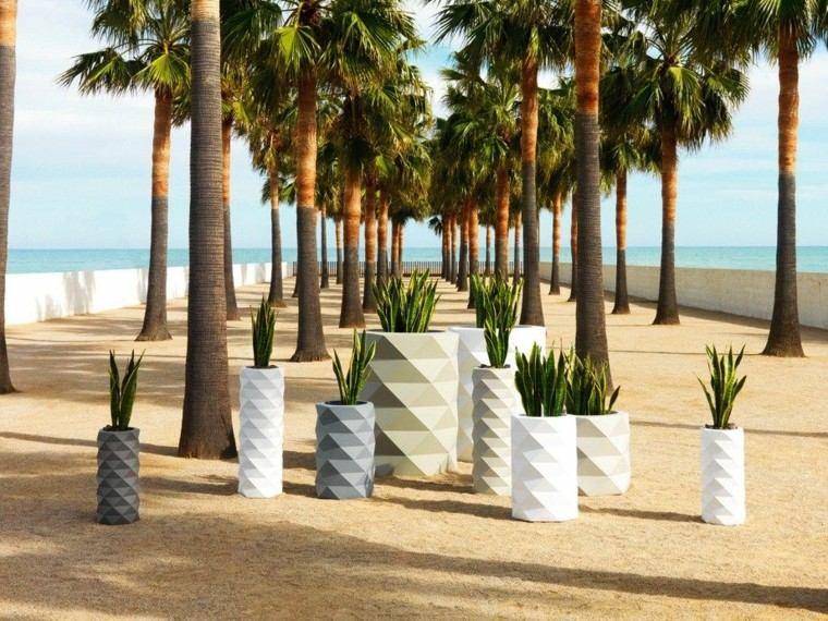 maceteros playa modernos interesantes variados