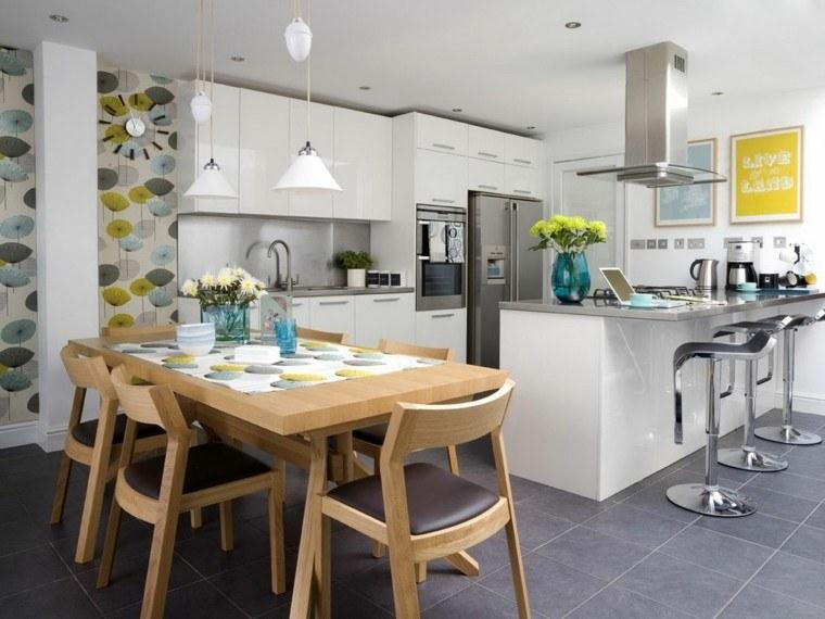 Ideas cocina dise o y un ambiente funcional en casa for Cocinas abiertas al living