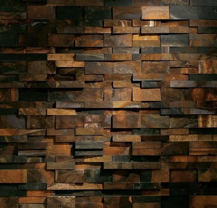 Revestimiento de paredes interiores creatividad y estilo - Revestimiento de muros ...