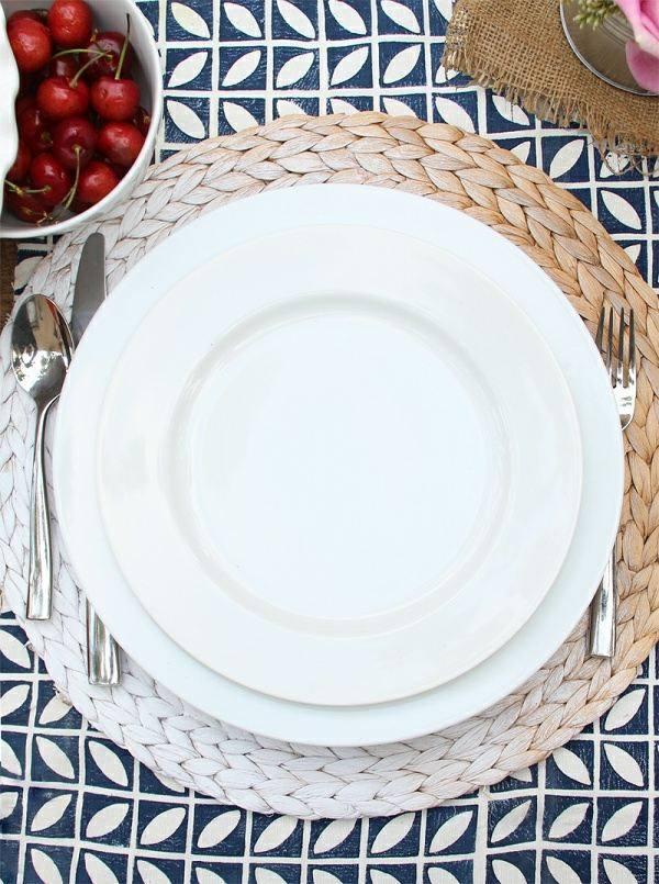 manteles bandejas decoracion mesa