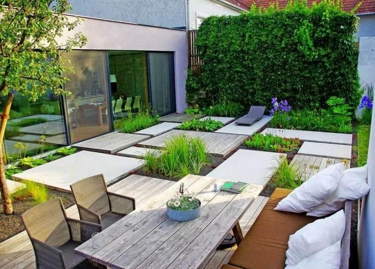 mesa almohadones confort patio sillas