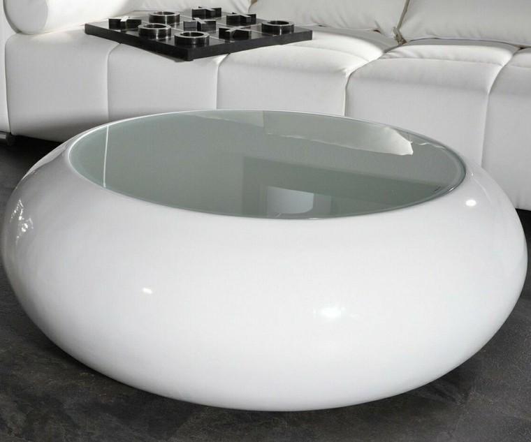 Muebles de salon modernos y funcionales menos es m s - Mesa salon redonda ...