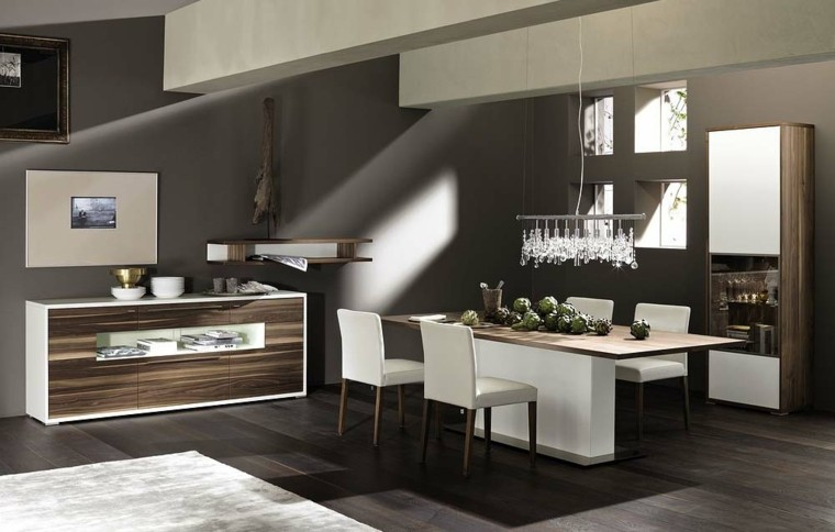 mesa comedor cocina moderna madera
