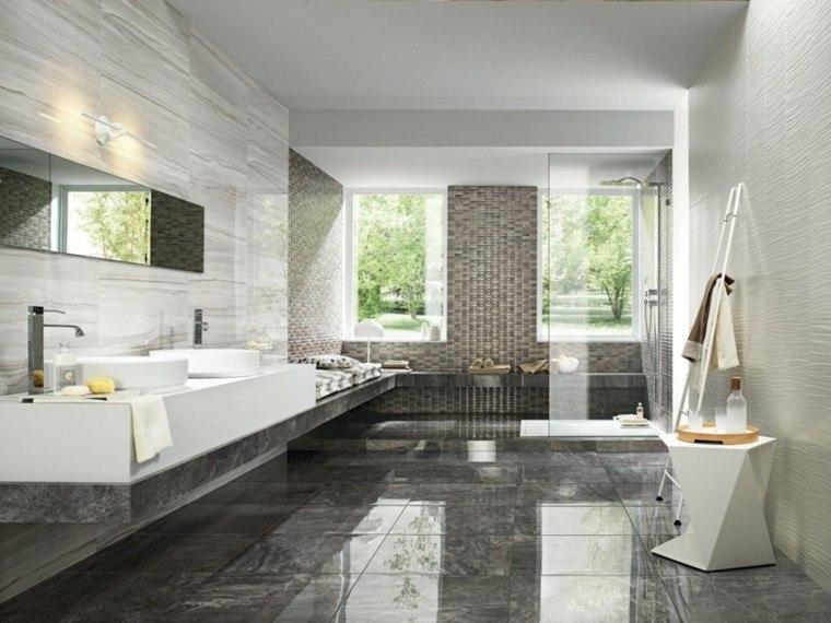 Cuartos de ba o con marmol ideas nicas de ensue o for Mosaico arredamenti
