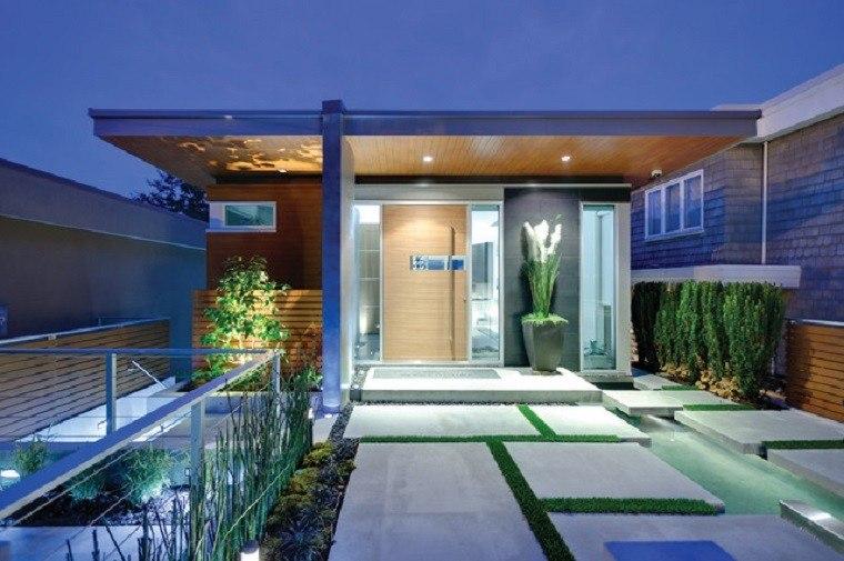 minimalista moderno luces led exterior