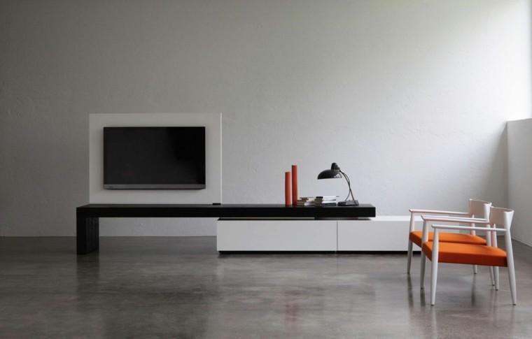 Muebles de salon modernos y funcionales menos es m s for Muebles salon diseno minimalista